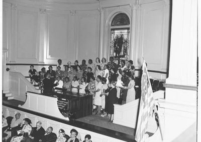 Choir singing at NACWC convention, Seattle, August, 1948
