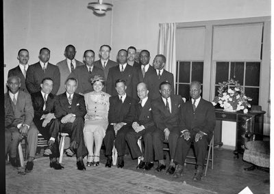 Community leaders posing togerther, Seattle, circa 1953