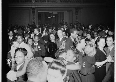 Dance at the Eagles Club auditorium, circa 1947